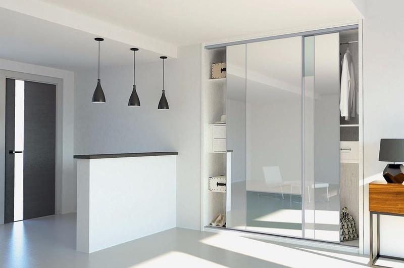 fa ade de placard miroir menuiserie d 39 int rieur am nagement int rieur cahier de tendances. Black Bedroom Furniture Sets. Home Design Ideas