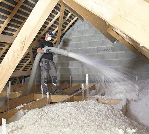laine de verre souffler isover knauf insulation. Black Bedroom Furniture Sets. Home Design Ideas
