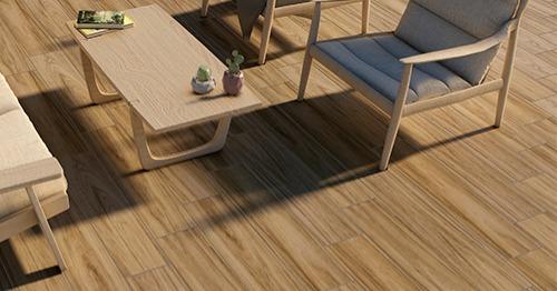 Carrelage terrasse aspect bois 19x80cm parefeuille mod le for Parefeuille carrelage